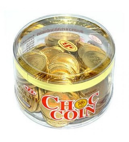 GOLD COIN CHOCOLATE GIFT BOX ( IMPORTED)