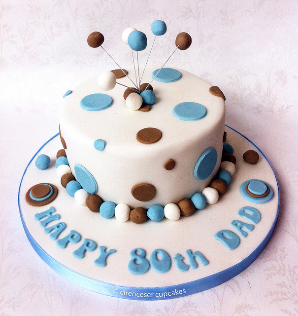 Cake Idea 80th Birthday Ideas For Dad Uk Source Mom